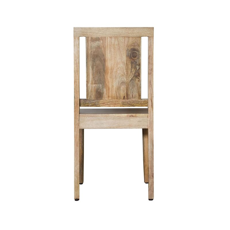 Millwood Pines Luz Solid Wood Dining Chair Wayfair