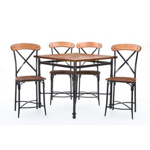 Marla 5 Piece Pub Table Set
