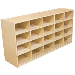 Read Reviews 20 Compartment Cubby By Wood Designs