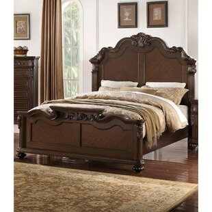 White carved bed wayfair