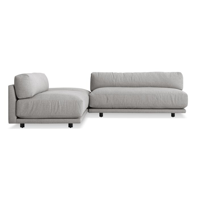 Incredible Sunday L Sectional Sofa Small Machost Co Dining Chair Design Ideas Machostcouk