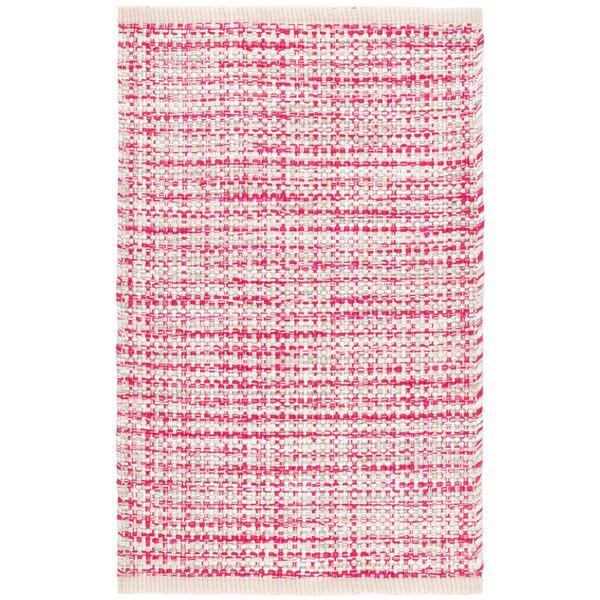 Dash And Albert Rugs Journey Handmade Flatweave Pink Indoor Outdoor Area Rug Perigold