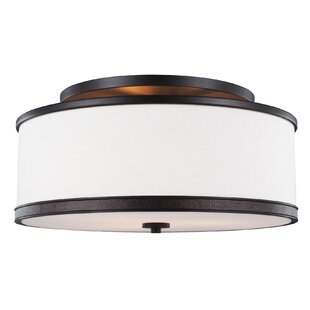 Darby Home Co Oneal 3-Light Semi Flush Mount