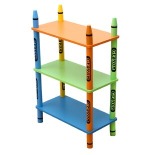 Elsinore 3 Tier 28 Bookcase by Zoomie Kids