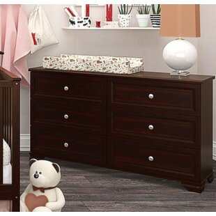 Best Choices Essex 6 Drawer Double Dresser by Harriet Bee Reviews (2019) & Buyer's Guide