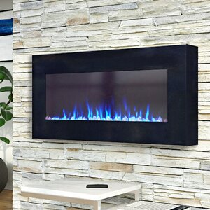 Arlo LED Wall Mounted Electric Fireplace