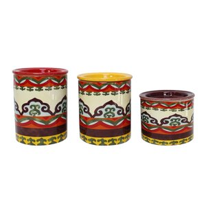Galicia 3 Piece Kitchen Canister Set