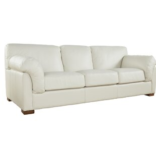 Woodby Genuine Leather Sofa