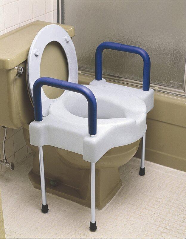 elongated raised toilet seat. Tall Ette Elevated Raised Toilet Seat Maddak  Reviews Wayfair