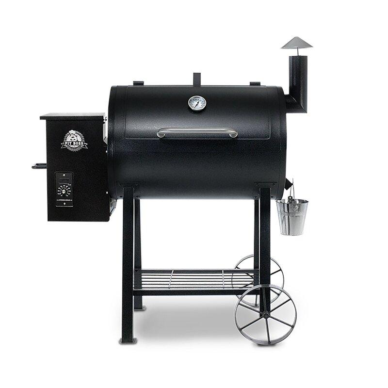 Pit Boss 820 Wood Pellet Grill   Wayfair