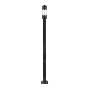 Ivy Bronx Feder 1-Light LED Outdoor Lamp Post