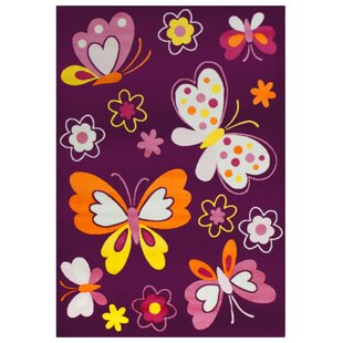 Bambino Purple Area Rug by Wildon Home