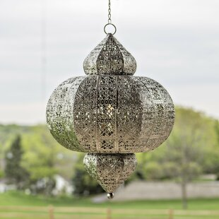 Reviews 1-Light LED Outdoor Pendant By River of Goods