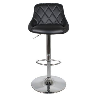 Denese Height Adjustable Swivel Bar Stool (Set Of 2) By Ebern Designs