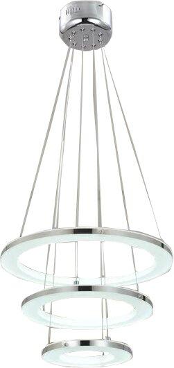 Ebern Designs 3 Light Unique Statement Tiered Led Chandelier Reviews Wayfair