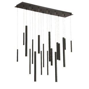 Lacie 18-Light LED Pendant by Orren Ellis