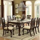 Christman 7 Piece Extendable Solid Wood Dining Set by Astoria Grand