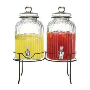 Hedwig 3 Piece Beverage Dispenser Set