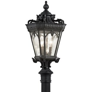 Fleur De Lis Living Guzzi Outdoor 3-Light Lantern Head