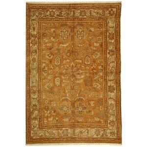 Turkistan Gold / Ivory Oriental Rug