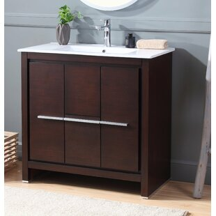 Moultrie 36 Single Bathroom Vanity Set by Wrought Studio