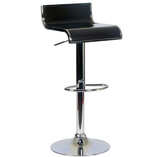 Tygerclaw Adjustable Height Swivel Bar Stool by Homevision Technology