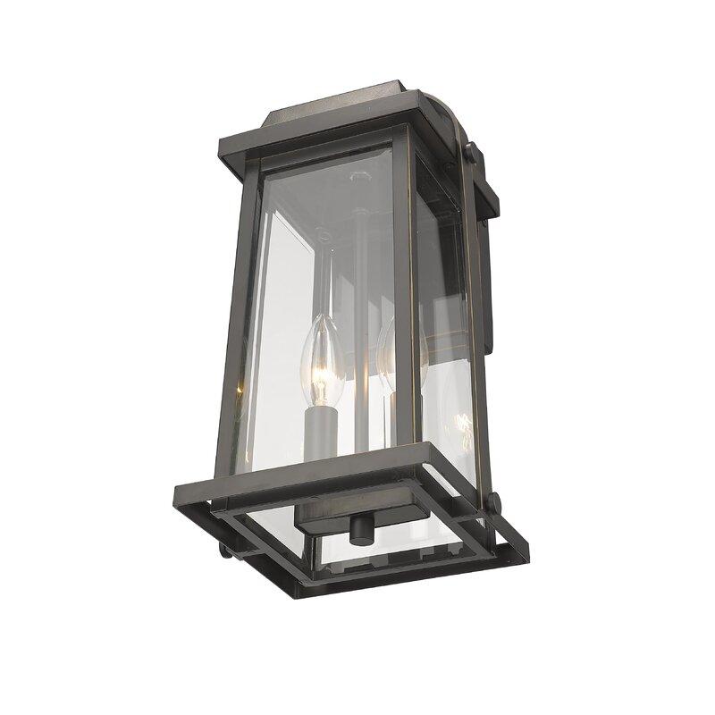 Sisto 2 Light Outdoor Wall Lantern Joss Main
