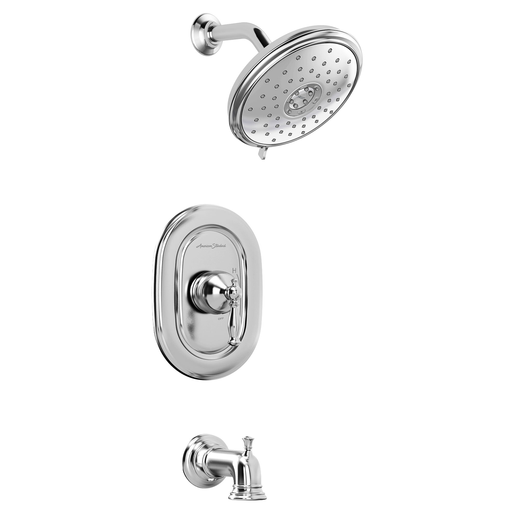 American Standard Quentin Thermostatic Tub And Shower Faucet With Diverter Wayfair