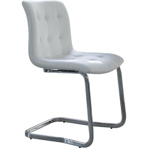 Kuga Genuine Leather Upholstered Dining Chair by Bontempi Casa