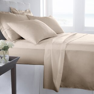 500 Thread Count 100% Cotton Solid Sheet Set