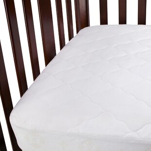 Waterproof Fitted Quilted Crib Mattress Pad