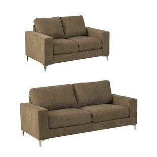 Orren Ellis Hermia 2 Piece Living Room Set