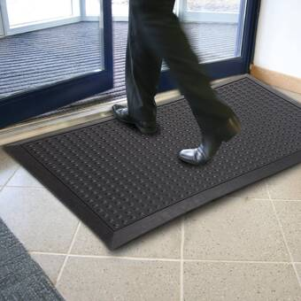 Mats Inc Protection Diamond 21 X 21 Garage Flooring Tile In Gray Wayfair