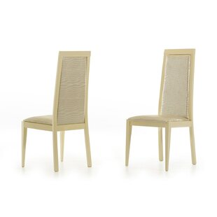 Camron Upholstered Dining Chair (Set of 2) Everly Quinn