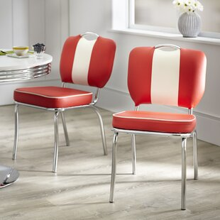 Sherly Retro Dining Chair (Set of 2) Latitude Run