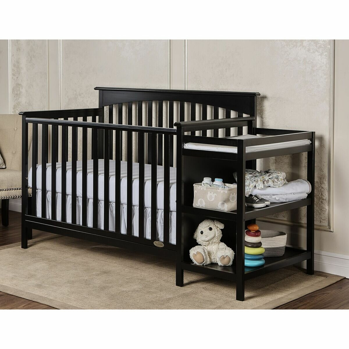 Dream On Me Chloe 3 In 1 Convertible Crib And Changer Combo Reviews Wayfair