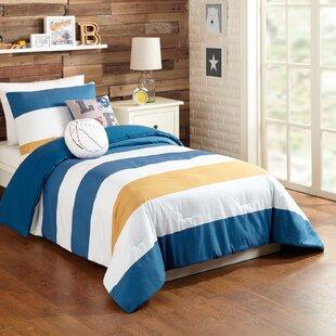 Grady 4 Piece Twin Comforter Set by Harriet Bee
