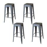 Cherine 30 Bar Stool (Set of 4) by Williston Forge