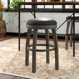 Coomes Swivel Bar & Counter Stool (Set of 2) by Millwood Pines