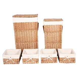 6 Piece Square Laundry Set By House Additions