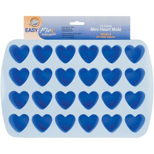 Easy-Flex Silicone Heart Mold