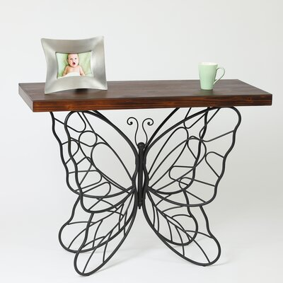 Superior Shiela Butterfly Console Table