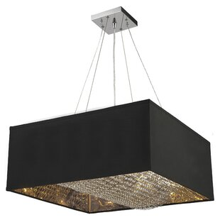 Everly Quinn Julewitz 5-Light Square/Rectangle Chandelier