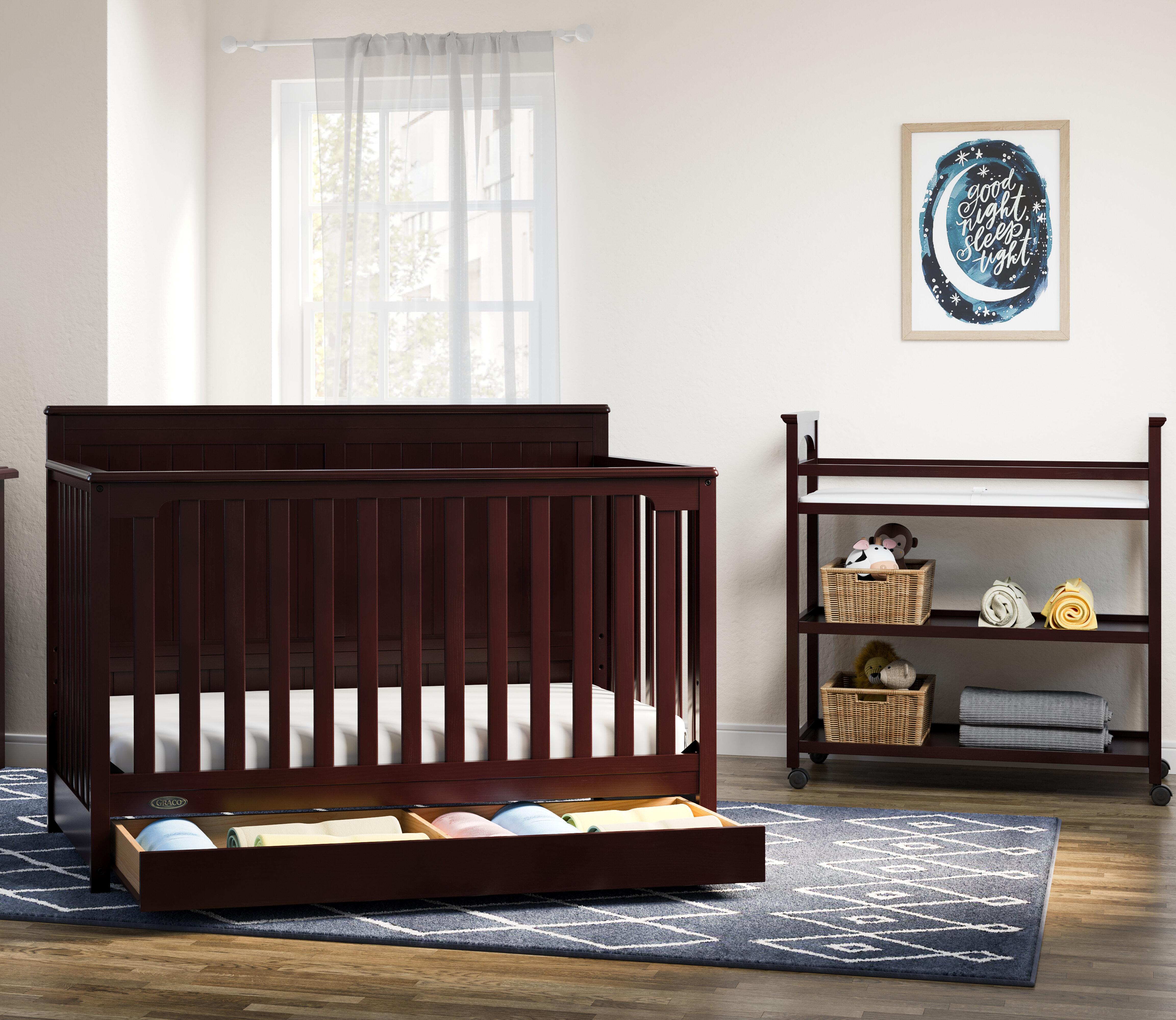 Graco Hadley 4 In 1 Convertible 2 Piece Nursery Furniture Set Reviews Wayfair