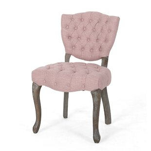 Marielle Tufted Upholstered Dining Chair (Set of 2) One Allium Way