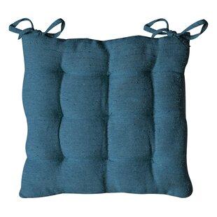 Cotton Rib Seat Cushion (Set Of 2) By Bloomsbury Market
