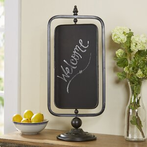Orston Swivel Tabletop Chalkboard