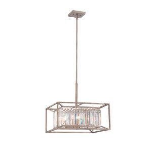Greyleigh Syracuse 4-Light Square/Rectangle Chandelier