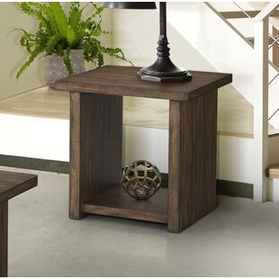 Read Reviews Scotti End Table by Gracie Oaks