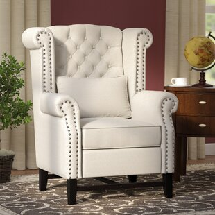 Porter Wingback Chair by Three Posts Sale